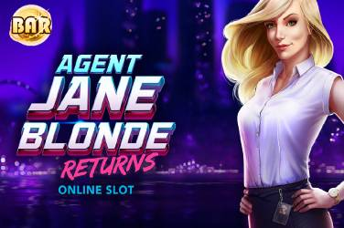 Agent Jane Blonde Returns - Microgaming