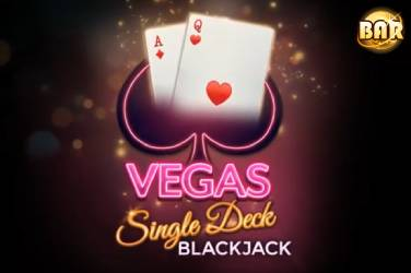 Vegas Single Deck Blackjack  - Microgaming