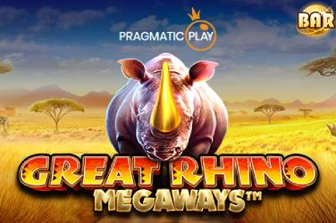 Great Rhino Megaways - Pragmatic Play